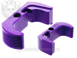 Glock 43 Reversible Magazine Release - NDZ Performance Aluminum Upgrade - Purple