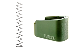 NDZ Green Plus Two Magazine Plate with Ghost Magazine Spring for Glock 43 (*LZ)