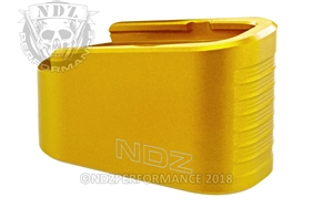 NDZ Gold Plus Two Magazine Plate Extension for Glock 43 (*LZ)