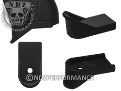 NDZ Black Magazine Plate Finger Extension for Glock 43 (*LZ)