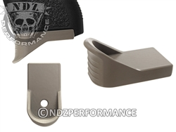 NDZ Gun Kote FDE Magazine Plate Finger Extension for Glock 43