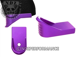 NDZ Purple Magazine Plate Finger Ext Glock 43