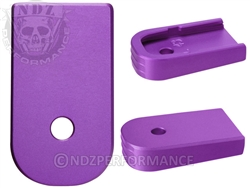 NDZ Purple Magazine Plate for Glock 43 (*LZ)