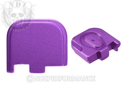 NDZ Purple Glock Back Plate fits 43 (*LZ)