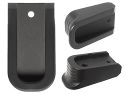 NDZ Special Edition Black Finger Extended Magazine Plate for Glock 43X 48 9MM Black
