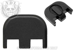 NDZ Black Rear Slide Plate Upgrade for Glock Gen 5 (*LZ)