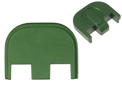 Aftermarket Green Glock Back Plate - Gen 5 17 19 19X 26 34 | NDZ Performance