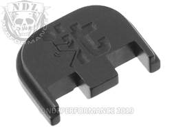 NDZ Glock 5 rear plate F It Stickman Black