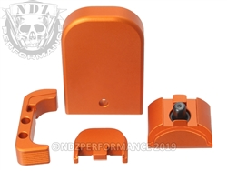 NDZ Performance Special Edition Orange Glock Gen 5 Kits in 9MM.