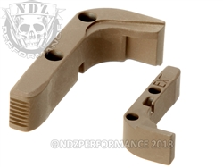 Aftermarket FDE Extended Mag Release For Glock Gen 1-3 | NDZ Performance