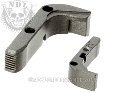 Aftermarket Tungsten Extended Mag Release For Glock Gen 1-3 | NDZ Performance
