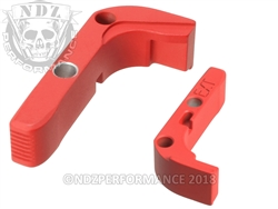 Aftermarket USMC Red Extended Mag Release For Glock Gen 1-3 | NDZ Performance