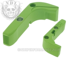 Aftermarket Cerakote Zombie Green Extended Mag Release For Glock Gen 1-3 | NDZ Performance