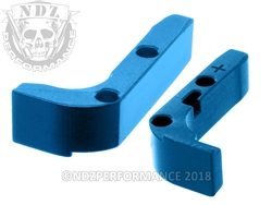 NDZ Blue Magazine Release Plus for Glock Gen 1-3 (*LZ)