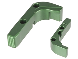 NDZ Green Magazine Release Plus for Glock Gen 1-3 (*LZ)