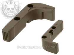 NDZ HC FDE Magazine Release Plus for Glock Gen 1-3 (*LZ)