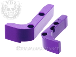 NDZ Purple Magazine Release Plus for Glock Gen 1-3 (*LZ)