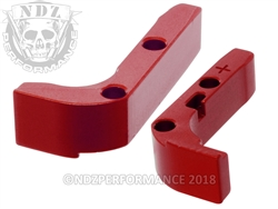 NDZ Red Magazine Release Plus for Glock Gen 1-3 (*LZ)