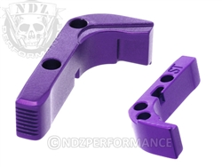 NDZ Purple Standard Magazine Release for Glock Gen 1-3 (*LZ)