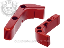 NDZ Red Standard Magazine Release for Glock Gen 1-3 (*LZ)