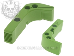Aftermarket Cerakote Zombie Green Mag Release For Glock Gen 1-3 | NDZ Performance