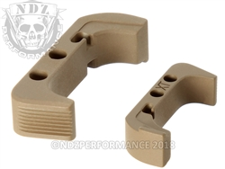 NDZ Extended Magazine Release for Glock Gen 4 Cerakote Flat Dark Earth