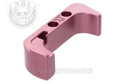 NDZ Pink Extended Magazine Release for Glock Gen 4 (*LZ)