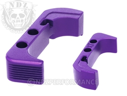 NDZ Purple Extended Magazine Release for Glock Gen 4 (*LZ)