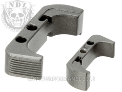 Aftermarket Tungsten Plus Sized Mag Release For Glock Gen 4 | NDZ Performance