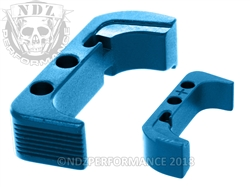 NDZ Blue Magazine Release Plus for Glock Gen 4 (*LZ)