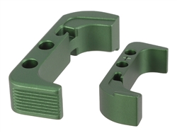 NDZ Green Magazine Release Plus for Glock Gen 4 (*LZ)