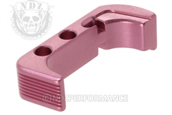 NDZ Pink Magazine Release Plus for Glock Gen 4 (*LZ)