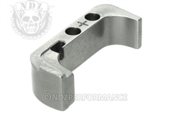 NDZ Silver Magazine Release Plus for Glock Gen 4 (*LZ)
