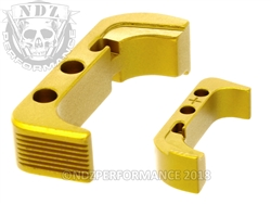 NDZ Gold Magazine Release Plus for Glock Gen 4 (*LZ)