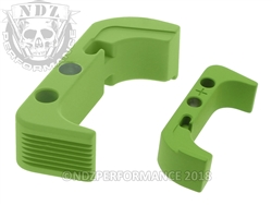 Aftermarket Cerakote Zombie Green Plus Sized Mag Release For Glock Gen 4 | NDZ Performance