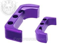 NDZ Purple Standard Magazine Release for Glock Gen 4 (*LZ)