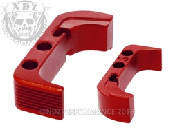 NDZ Red Standard Magazine Release for Glock Gen 4 (*LZ)