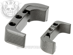 Aftermarket Tungsten Mag Release For Glock Gen 4 | NDZ Performance