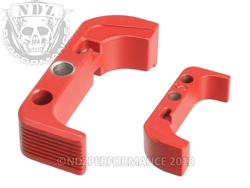 Aftermarket USMC Red Mag Release For Glock Gen 4 | NDZ Performance
