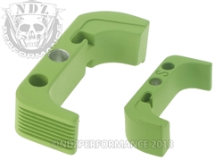 Aftermarket Cerakote Zombie Green Mag Release For Glock Gen 4 | NDZ Performance