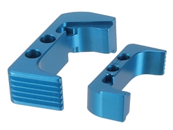 NDZ Extended Magazine Release for Glock 43X 48 Blue (*LZ)