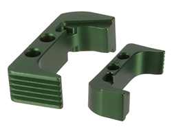 NDZ Extended Magazine Release for Glock 43X 48 Green (*LZ)
