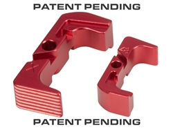 NDZ Red Extended Magazine Release for Glock 43X 48 (*LZ)