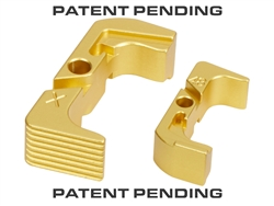 NDZ Gold Extended Magazine Release for Glock 43X 48 (*LZ)
