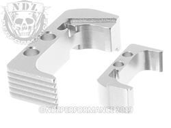 NDZ Silver Magazine Release Plus for Glock 43X 48 (*LZ)