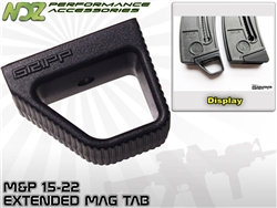 Gripp Magazine Plate Tab for Smith & Wesson 15-22 Black