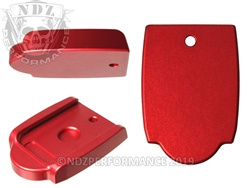 NDZ Heckler & Koch VP9 P30 Magazine Plate Red