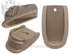 NDZ Heckler & Koch VP9 P30 Magazine Plate Finger Extension FDE