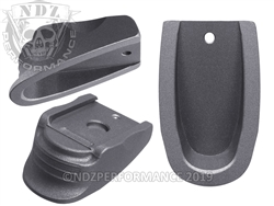NDZ Heckler & Koch VP9 P30 Magazine Plate Finger Extension Tungsten