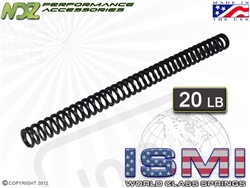 ISMI 20lb Recoil Spring for Glock Full Size ONLY